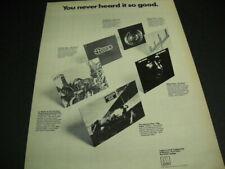 Jackson Five Jr. Walker Reuben Howell Spinners Four Tops 1973 Promo Poster Ad