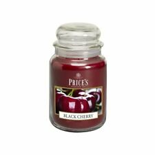 Price's Candles Large Jar BLACK CHERRY 630g