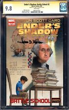 ENDERS SHADOW 2 CGC 9.8 SS SIGNED BY DR JAMES D WATSON FOUNDER OF DNA NETFLIX