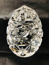 Lenox Starburst Crystal Cut Egg