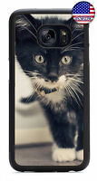 Kitty Cat Kitten Love Rubber Case For Samsung Galaxy S9 S8 Plus S7 Edge S6 S5 S4