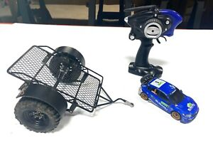 RCSparks: 1/10th scale RC TRAILER w/ FREE KYOSHO Mini Z DRIFT CAR and Radio!