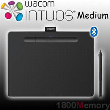 Wacom Intuos Creative Pen Tablet with Bluetooth Wireless Medium Black CTL-6100WL