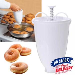 Utensil Plastic Tools Donut Maker DIY Doughnut Machine Manual Dispenser Kitchen