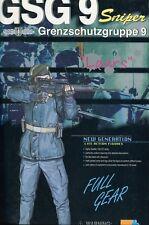 German GSG-9 Lars Sniper Anti-terror / SWAT  1/6 scale