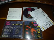 Mr .Big / Get Bigger - Live USA 1992 JAPAN ORG *R