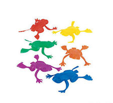 144 Plastic Jumping Frogs Prizes Pinata Birthday Party Favor Loot Bag Filler