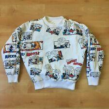 Vtg Disney reversible sweater