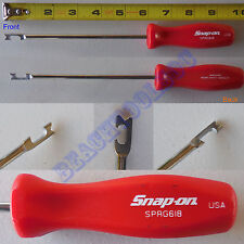 "New Snap On Red Hard Handle 9-9/16"" Push - Pull Spring Tool SPRG618R"