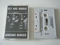 SLY & ROBBIE LANGUAGE BARRIER CASSETTE TAPE ISLAND UK 1985