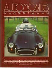 AUTOMOBILES CLASSIQUES 17 AC COBRA ALFA ROMEO 3000 1960 VOITURES JOUETS A MOTEUR