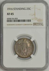 1916 Standing Liberty Quarter 25c XF45 NGC 944078-6