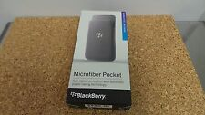 Blackberry Microfiber Pocket Pocket for Z10 ACC-49282-301 Gray (d975) OEM New