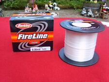berkley tresse fireline crystal translucide 1800m--0.20mm
