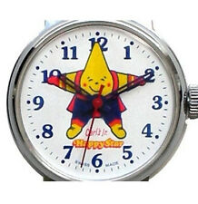 """Rare Vintage """"Carl's Jr. Happy Star"""" 1 Jl. Wind Up Watch From 1960's Promotion"""