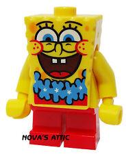 LEGO SPONGEBOB SQUAREPANTS BLUE LEI MINI FIGURE NEW