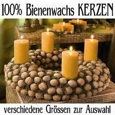 100% Bienenwachskerze Kerze Teelichter in verschiedene Grössen/ RAL Qualität