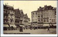 CPA France 1910/20 VALENCIENNES Geschäfte Trubel Leute alte Postkarte Frankreich