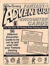 FANTASY ADVENTURE ENCOUNTER CARDS 8400 NM! IN BAG The Armory Dungeons & Dragons