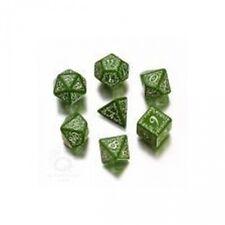 Elvish Dice Green And White - 7