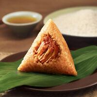 Spiced Food Snacks Chinese Wufangzhai Zongzi 零食中国小吃包邮 嘉兴特产咸味粽 五芳斋粽子真空鲜肉粽100g/袋*6