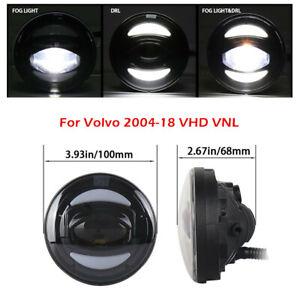 """4"""" LED Fog Light Lamp for Volvo VHD VNL Volvo Front Bumper Fog Light 84724420"""