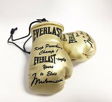 Autographed Mini Boxing Gloves Muhammad Ali (Special Edition) Presented to Elvis