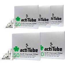 250 actiTube SLIM Aktivkohlefilter 5 x 50er Aktivkohle Filter Tune Slimfilter