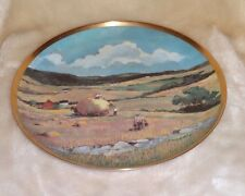 "Danbury Mint Eric Slone The American Countryside Hayfield 9.25"" Plate Usa"
