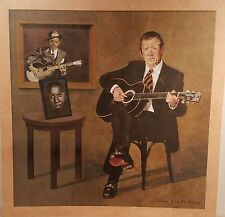 Eric Clapton 'Me And Mr. Johnson' Promo Album Flat Suitable For Framing 2004