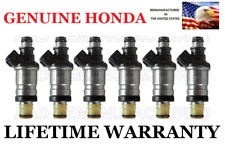 6X Genuine Flow Matched Fuel Injectors For 99 00 01 Acura TL 3.2L V6