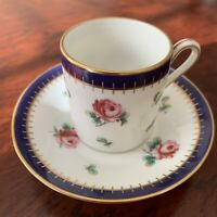 Richard Ginori Principessa Rosa Espresso Demitasse Cup & Saucer