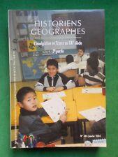 HISTORIENS & GEOGRAPHES N385 JAN 2004 L'IMMIGRATION EN FRANCE AU XXE 3E PARTIE