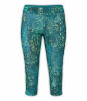 NWT $70 THE NORTH FACE WOMENS MOTUS TIGHT CAPRI Leggings Pants GREEN  SMALL