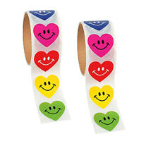 2 Roll of Love Paper Stickers Teacher Parent Reward Stickers Gifts
