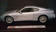 Maisto Executive Edition Aston Martin DB7 Vantage W/ Genuine Wood Platform 1:18