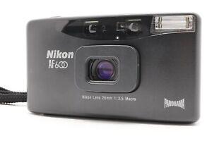 [Near MINT] Nikon AF600 Point & Shoot Film Camera 28mm f/3.5 From Japan