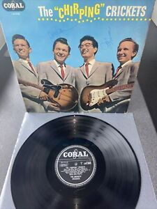 Buddy Holly/The Crickets - The 'Chirping' Crickets LP Vinyl  HAND SIGNED LVA9081