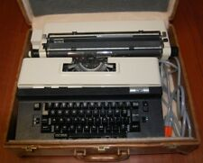 CITIZEN MODEL S-4 ELECTRIC TYPEWRITER Vintage + Leather Case