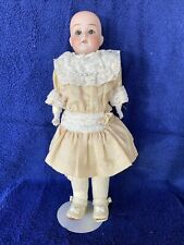 Original Antique Germany Marseille Bisque Cloth Body Doll Mabel 15/0 w/Clothes