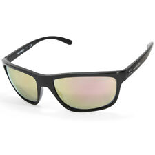 0e327b6d485 Arnette Booger AN4234 41 4Z Polished Black Grey-Pink Mirror Men s Sunglasses