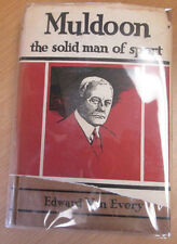 Muldoon the Solid Man of Sport Van Every Jack Dempsey Rare Boxing Book