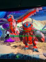 Red And Black Snow Owl Grown Mating Pair Ark: Survival Evolved PvE Xbox One