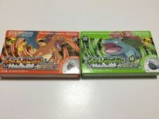 Used GameBoy Advance Pokemon Leaf Green & Fire Red set GBA w/box