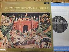 SXL 6428 Tchaikovsky / Britten Songs / Vishnevskaya / Rostropovich W/B