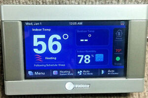 """TRANE XL824 4.3"""" Wi-Fi Color Programable Thermostat With Weather"""
