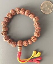 100% original  Rudraksha bracelet adjustable mala from Nepal, US Seller.