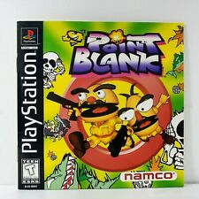 Point Blank PlayStation PS1 Original Instruction Booklet Manual