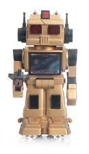 1987 SUPERBOT Battery Operated TV Robot with Original Box