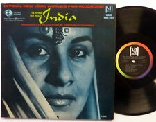 The Popular Folk Music of INDIA LP Veejay 6402 Near-MINT vinyl  #1144